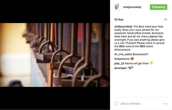 INSTAGRAM/@CHEFJASONDADY