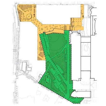 The scope of the Civic Park project at Hemisfair. - COURTESY / HEMISFAIR