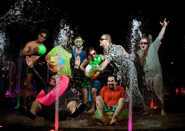 Austin funk big band Cilantro Boombox