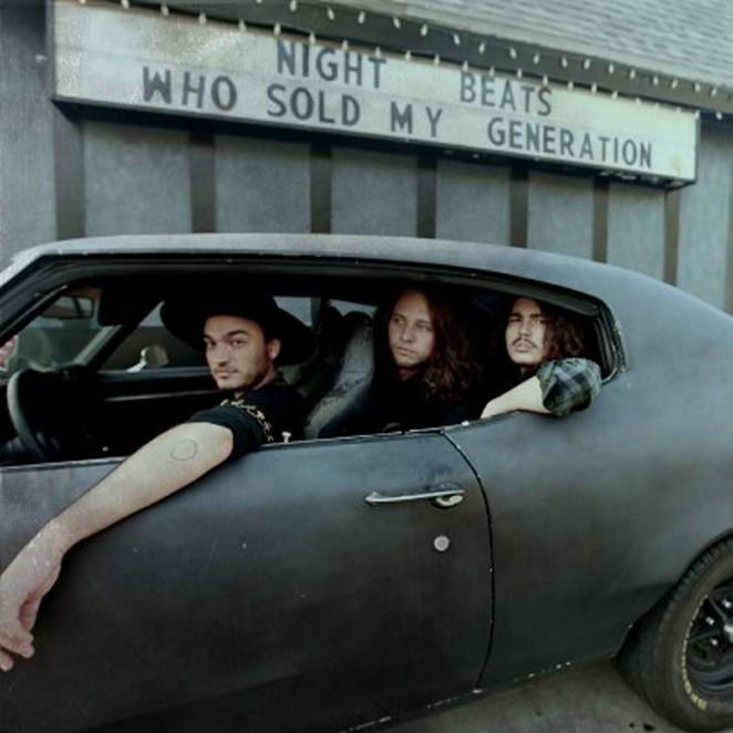 Seattle trio Night Beats in my dream car.
