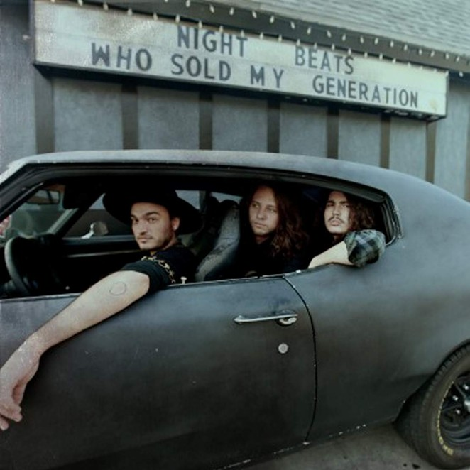 Seattle trio Night Beats in my dream car.