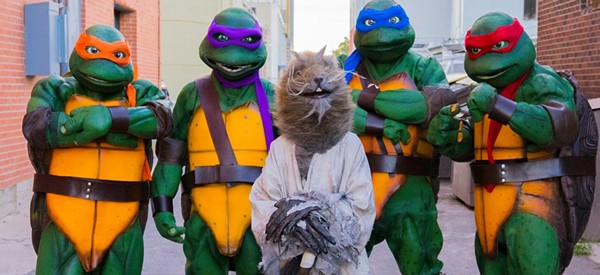 The Odessa Ninja Turtles will be there for autographs and photo-ops - THE ODESSA NINJA TURTLES' OFFICIAL FACEBOOK PAGE