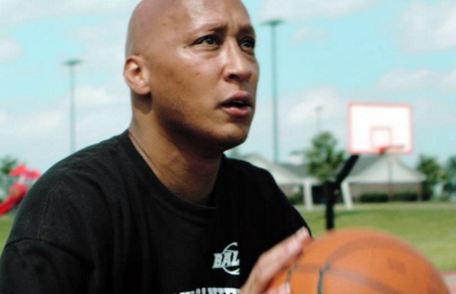 After a five-year NBA career in the 90s, which included two seasons with the San Antonio Spurs, Lloyd Daniels is now a youth basketball coach in the Jersey Shore. - BLOWBACK PRODUCTIONS