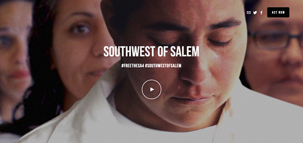 Deborah Esquenazi's film on the San Antonio case premiered to rave reviews at Tribeca last year. - SCREENSHOT, SOUTHWESTOFSALEM.COM