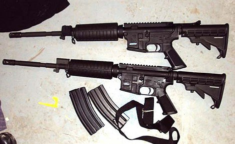 Prosecutors say Marciano Millan Vasquez helped smuggle crates of weapons into Mexico to fuel the Zetas' bloody turf war in Piedras Negras. - CBP.GOV