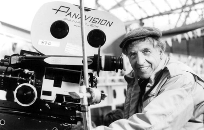 Filmmaker Garry Marshall on the set of 1994's Exit to Eden. - COURTESY