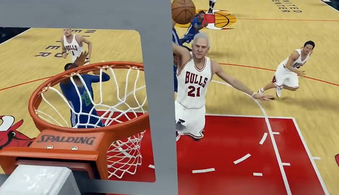 Pop with the left-handed slam! - COURTESY