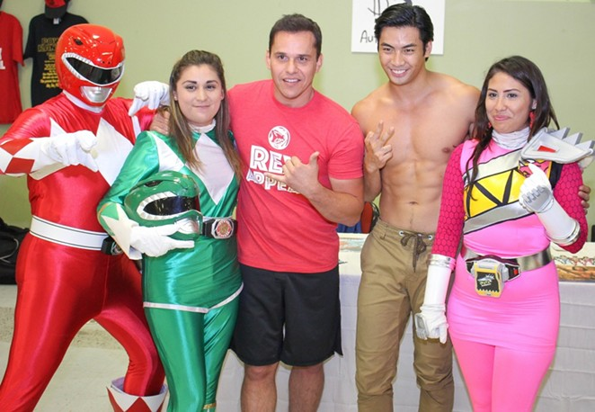 Steve Cardenas, center, alleged on Facebook that Texas Comic Con promoter Kris Kidd ripped him off. - PHOTO BY JULIAN P. LEDEZMA   SAN ANTONIO CURRENT