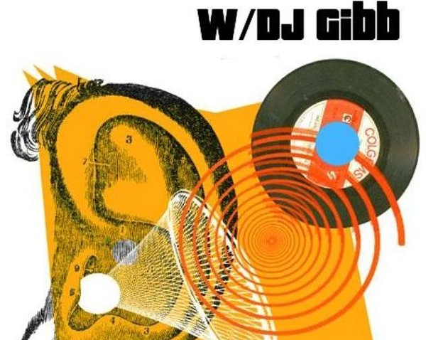 The poster for Wurd of Mouth Mondays with DJ Gibb - DJ GIBB'S PERSONAL FACEBOOK PROFILE