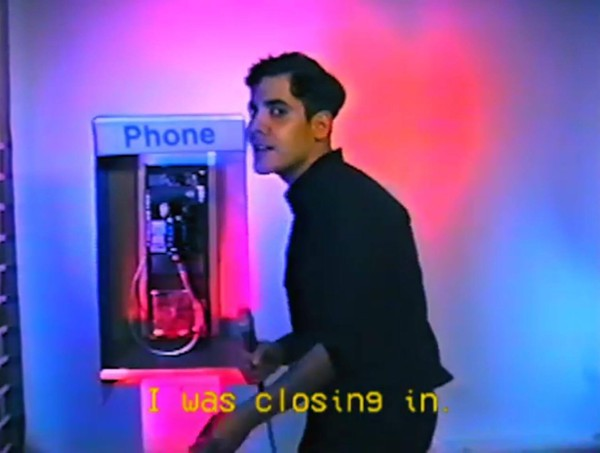 "Alan Palomo in his ""Annie"" video - YOUTUBE SCREENSHOT"