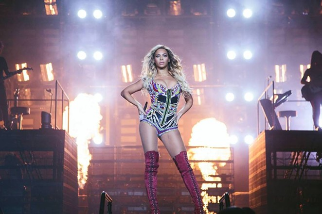 PHOTO VIA FACEBOOK, BEYONCE/ BY ROBIN HARPER