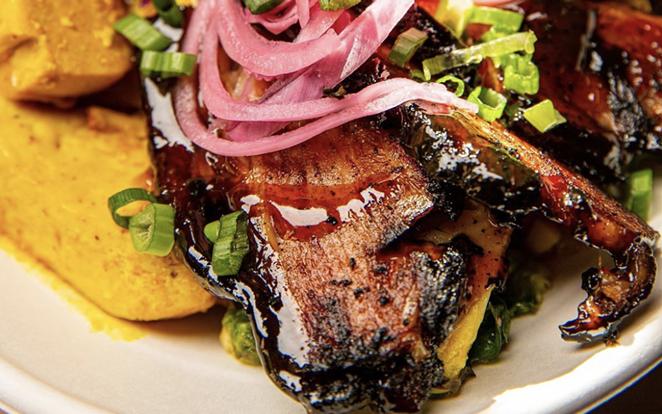 Mi Roti is one of nearly 30 Black-owned eateries participating in Black Restaurant Week San Antonio 2021. - INSTAGRAM / MIROTI210