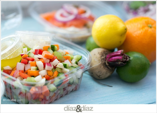 The chopped salad - COURTESY OF THE GOOD KIND
