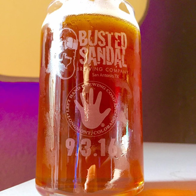 FACEBOOK/BUSTED SANDAL BREWING CO.