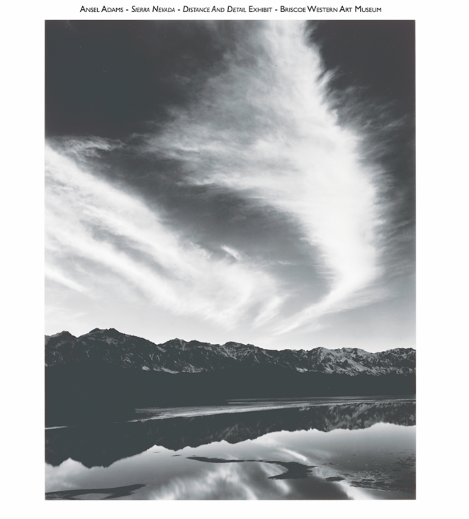 'Ansel Adams: Distance and Detail