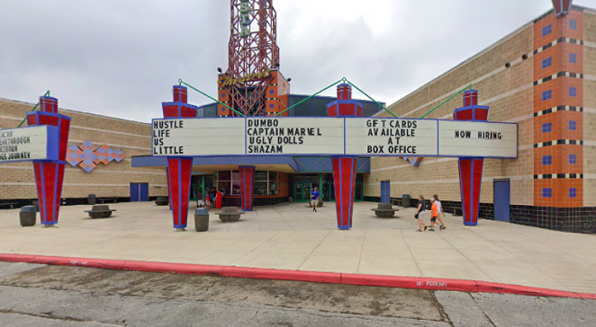 Regal Fiesta 16, once the city's largest cineplex, was turned into a dollar theater roughly 10 years ago. - GOOGLE STREET VIEW