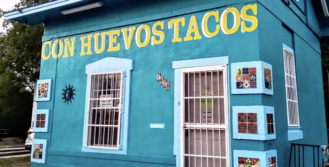 Con Huevos Tacos is listed among the top contenders on sabeanandcheese.net. - INSTAGRAM / CONHUEVOSTACOS