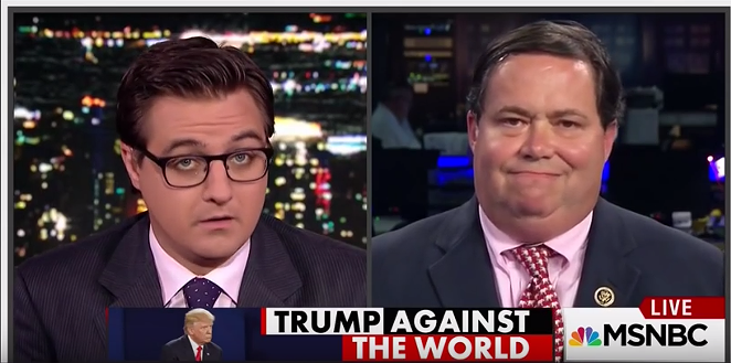 Rep. Farenthold's Tuesday night interview on MSNBC. - MSNBC