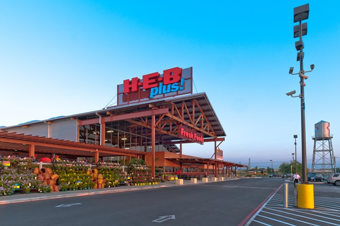 An H-E-B near Austin gave away groceries after the store's power went out. - COURTESY H-E-B