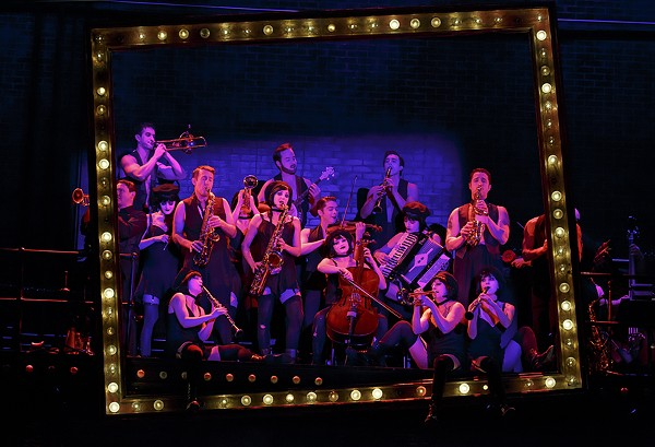 THE CAST OF ROUNDABOUT THEATRE'S TOURING PRODUCTION OF CABARET