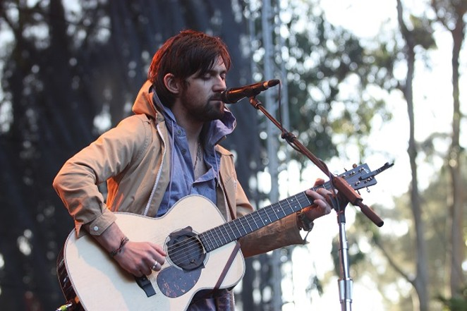 Oberst performing in 2009. - PHOTO CREDIT: MOSES NAMKUNG