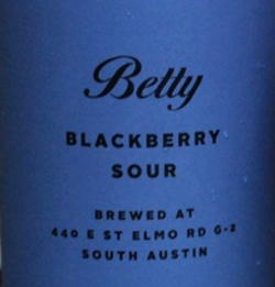 St. Elmo's Betty Blackberry Sour - INSTAGRAM / ALEX_DRINKS_BEER_ATX