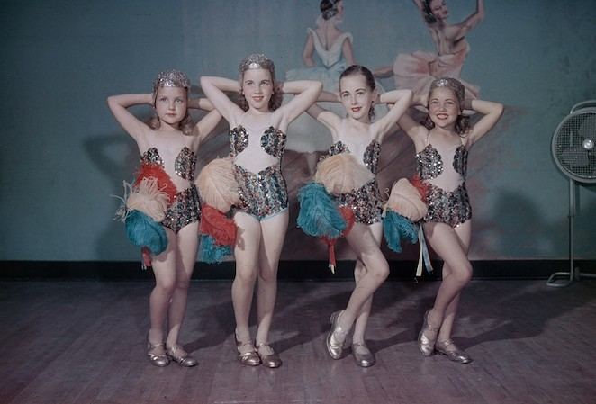 $1 a shot Dance School photographs, Byrd III,