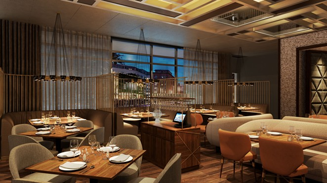 Landrace, helmed by Steve McHugh, will be the Thompson's signature restaurant. - COURTESY THOMPSON SAN ANTONIO