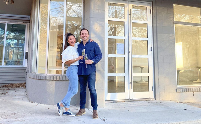 Houston and Emily Carpenter will open an ew concept in the former Feast location. - INSTAGRAM / EMTREVY