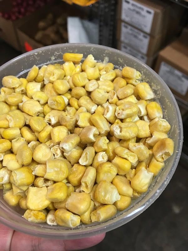Freeze dried corn - JESSICA ELIZARRARAS