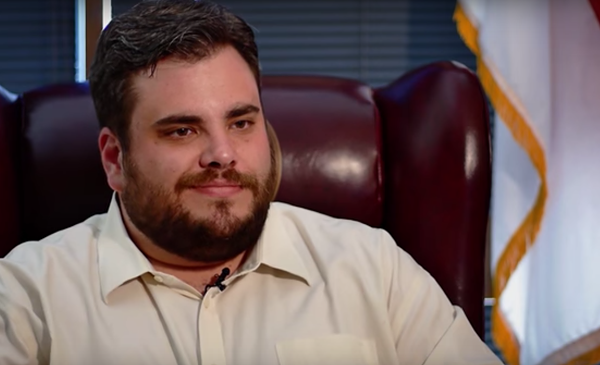 Rep. Jonathan Stickland - SCREENSHOT VIA YOUTUBE, TEXAS TRIBUNE