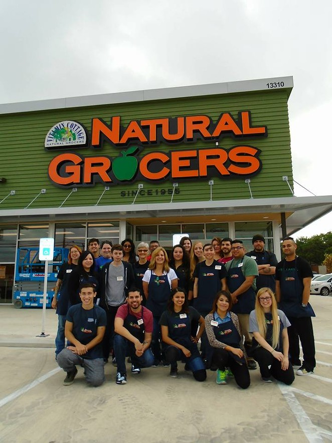 The staff at the NW Military Hwy. location -  FACEBOOK/NATURAL GROCERS