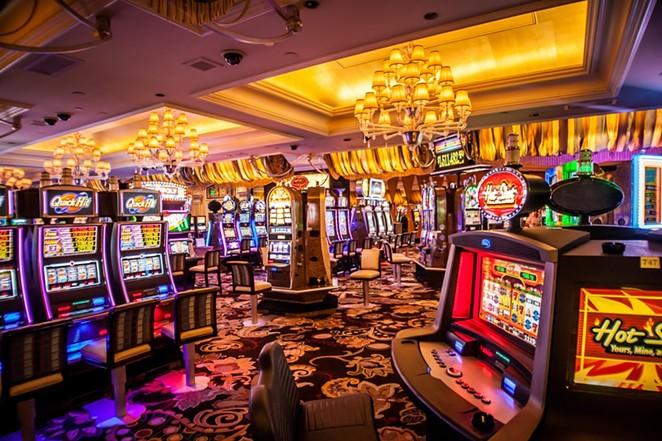 Slot machines fill a casino in Las Vegas, Nevada. - UNSPLASH / KVNGA