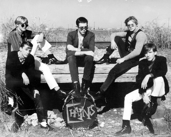 Believe it or not, San Antonio had a vibrant garage rock scene in the '60s. - COURTESY OF SAM KINSEY TEEN CANTEEN COLLECTION