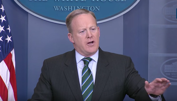 Use your words, Sean. - WHITE HOUSE, YOUTUBE.COM