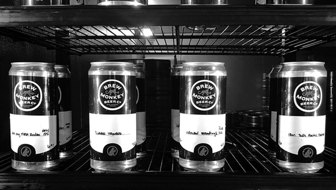 Later this month, local craft brewery Beer Monkey Beer Co. will transition to a new name. - INSTAGRAM / BREWMONKEYBEERCO