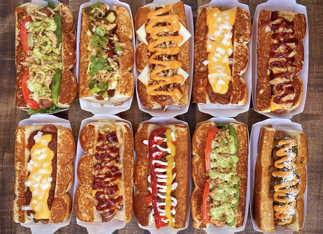 West Coast chain Dog Haus will officially open its first San Antonio location this weekend. - INSTAGRAM / DOGHAUSDOGS