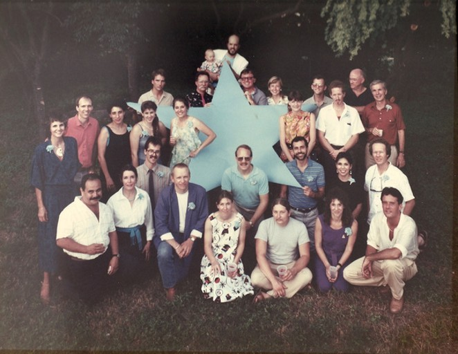 THE BLUE STAR EXHIBITION ARTISTS, JUNE 1986