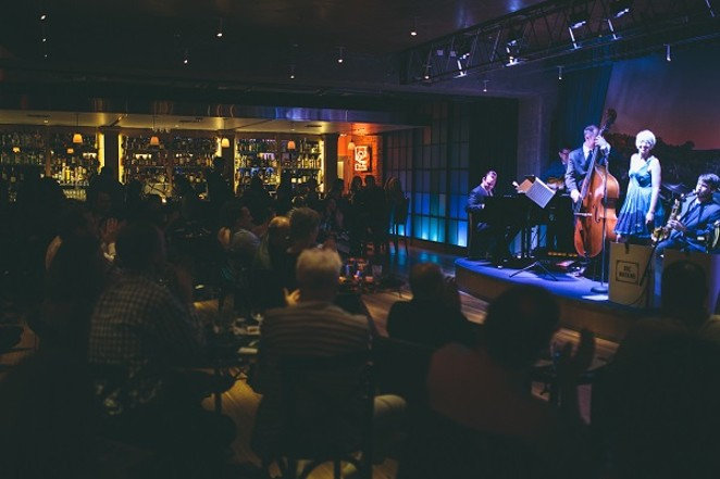 The swank scene at Jazz, TX. - PHOTO CREDIT: HILMY