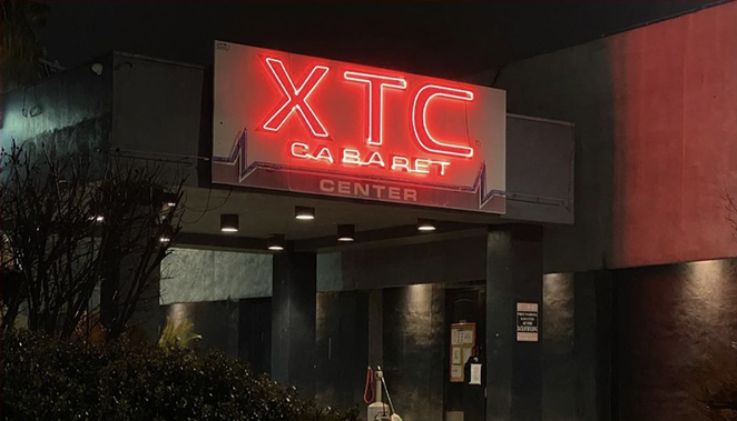 A state district judge has denied the city's request to shutter XTC Cabaret. - INSTAGRAM /  DARIAN_TROTTER_NEWS