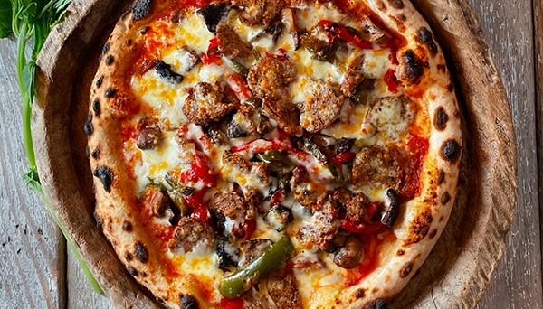 Dough's Prosciutto Sugo Pizza is among the recipes sent to Guy Fieri. - COURTESY / DOUGH PIZZERIA NAPOLETANA