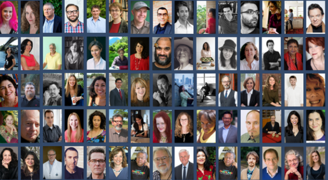 A snippet of the 2017 SABF Authors - SCREENSHOT, SAPLF.ORG