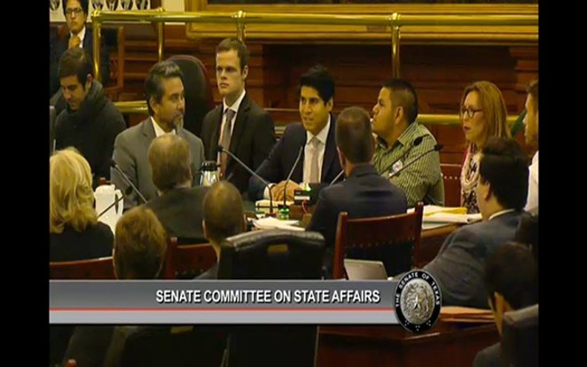 "SA city councilman Rey Saldaña: ""We're not talking about criminals."""