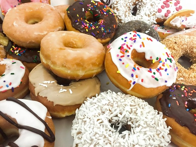 It's a great day for doughnuts.. -  FACEBOOK/DUNKINDONUTS