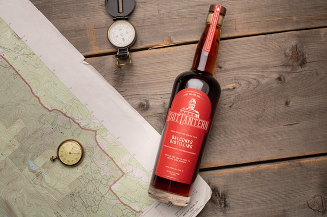 Balcones Texas Straight Bourbon Whiskey is part of Spring release from new independent bottler. - PHOTO COURTESY OF LOST LANTERN
