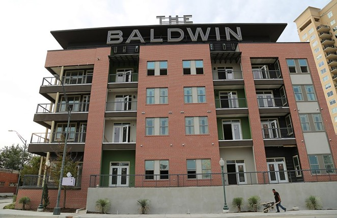 The Baldwin, which opened in 2018, was built by NRP Group. - SA HERON FILE PHOTO