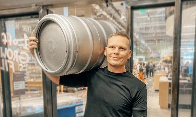 Master Brewer Chris Shelton oversees brewery operations. - COURTESY WHOLE FOODS MARKET BREWING COMPANY
