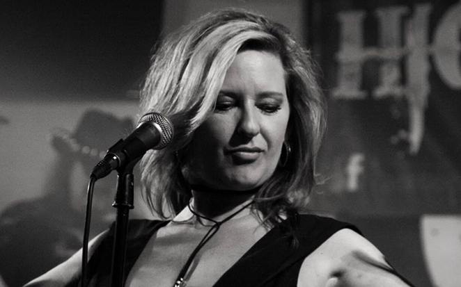 Amy Heller Reif, frontwoman for local blues-rock act The Heller Highwater Band, has been diagnosed with Acute Myeloid Leukemia. - PHOTO COURTESY AMY HELLER REIF BENEFIT