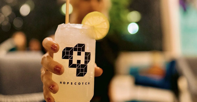 San Antonio's immersive art experience Hopscotch is looking for restaurants to pop-up at gallery site. - INSATGRAM / LETSHOPSCOTCH