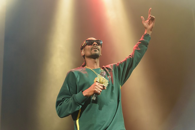 Snoop Dogg is headed back to SA in July. - JAIME MONZON